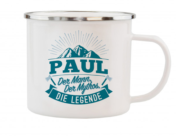 HTI-Living Paul Echter Kerl Emaille Becher