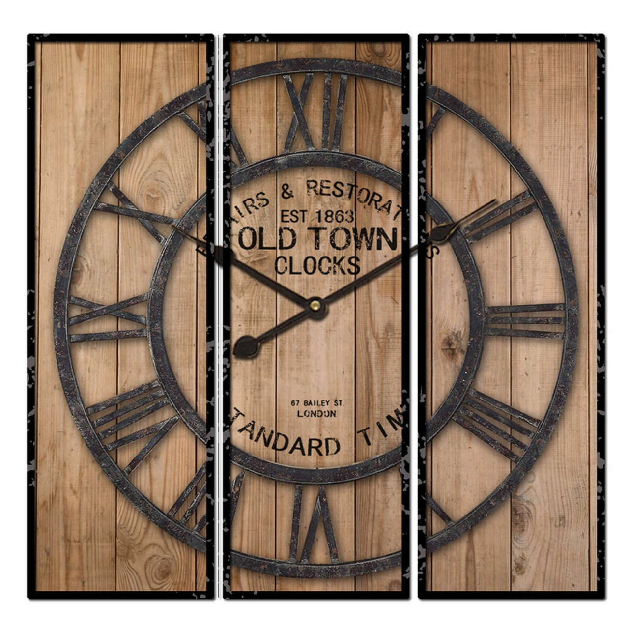 HTI-Line Wanduhr Old Town