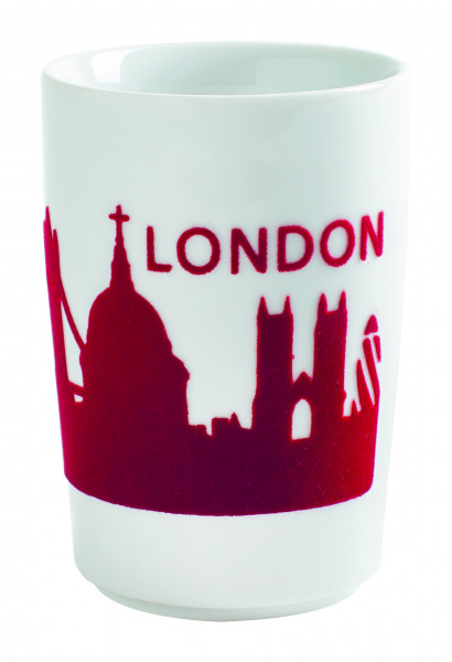 Kahla Five Senses Touch Maxi-Becher Skyline London