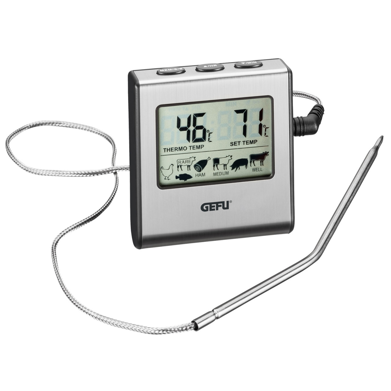 GEFU Digitales Backofenthermometer Tempere